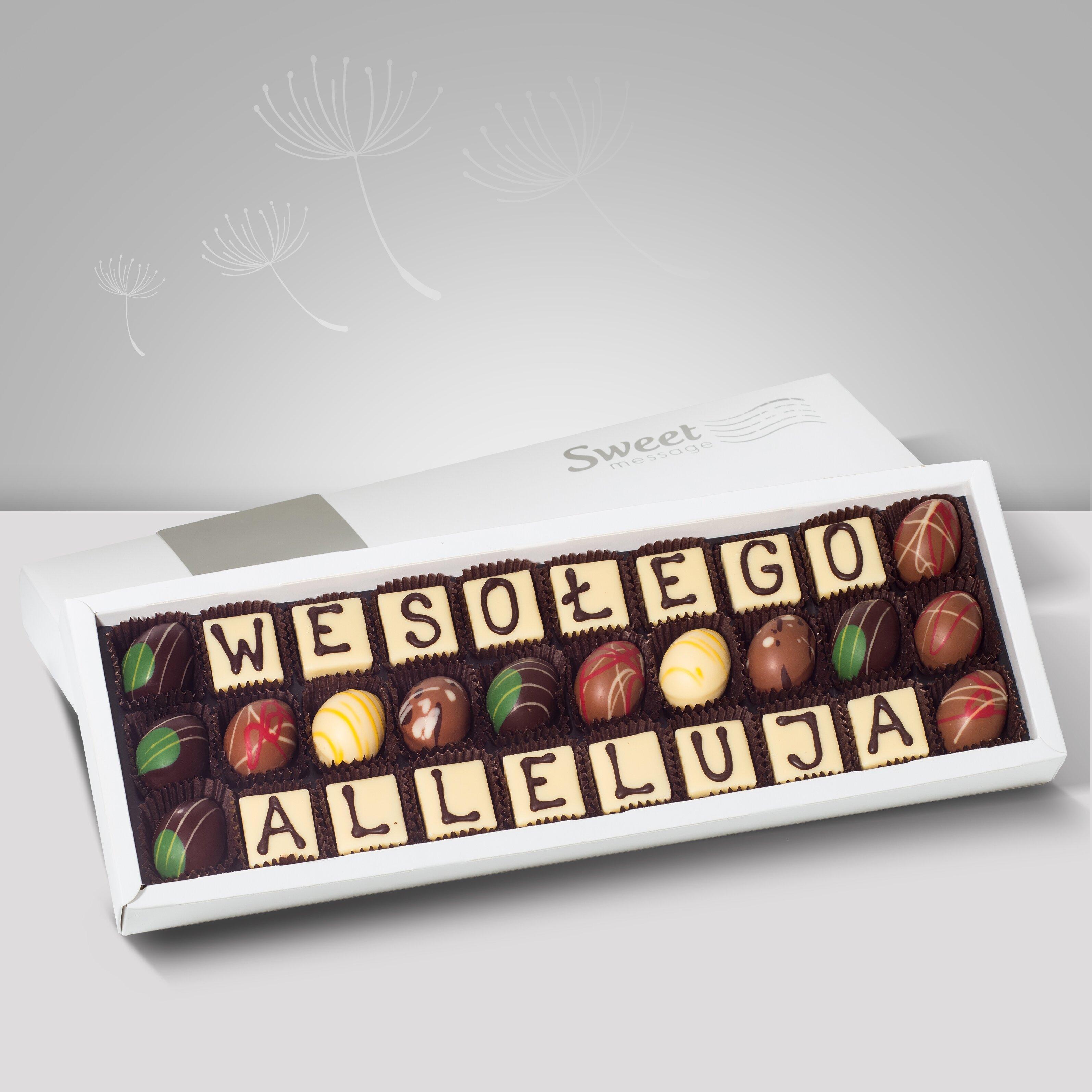 Czekoladowe telegramy na Wielkanoc - Sweet Message