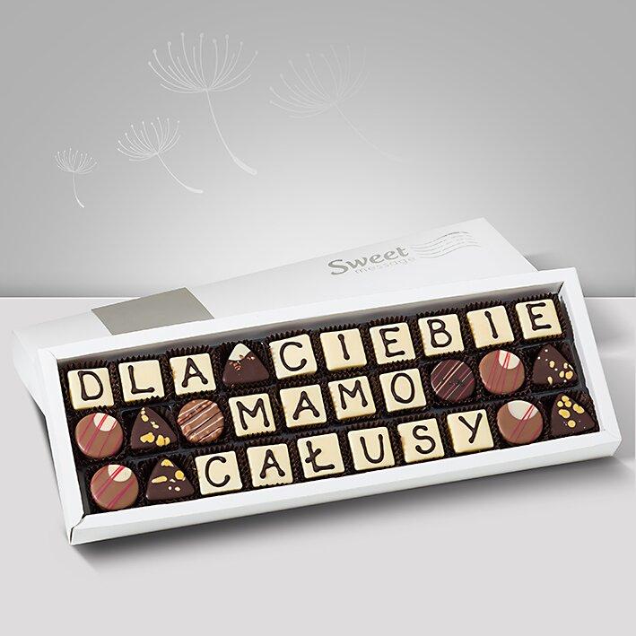 Czekoladowe życzenia dla Mamy - Sweet Message