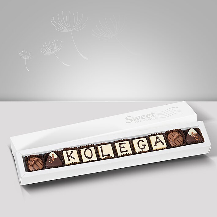 Czekoladki personalizowane - Sweet Message