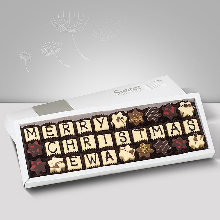 Praliny personalizowane - Sweet Message