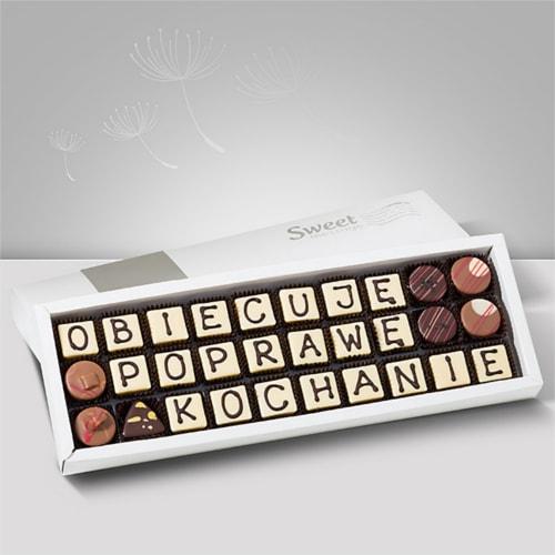 Czekoladki na przeprosiny - Sweet Message
