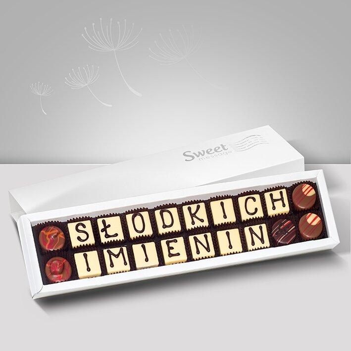 Czekoladki na imieniny - Sweet Message